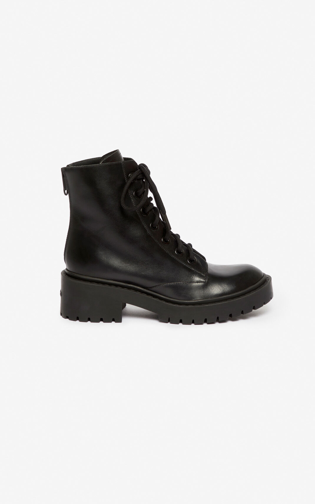 BLACK Pike Boots for women KENZO