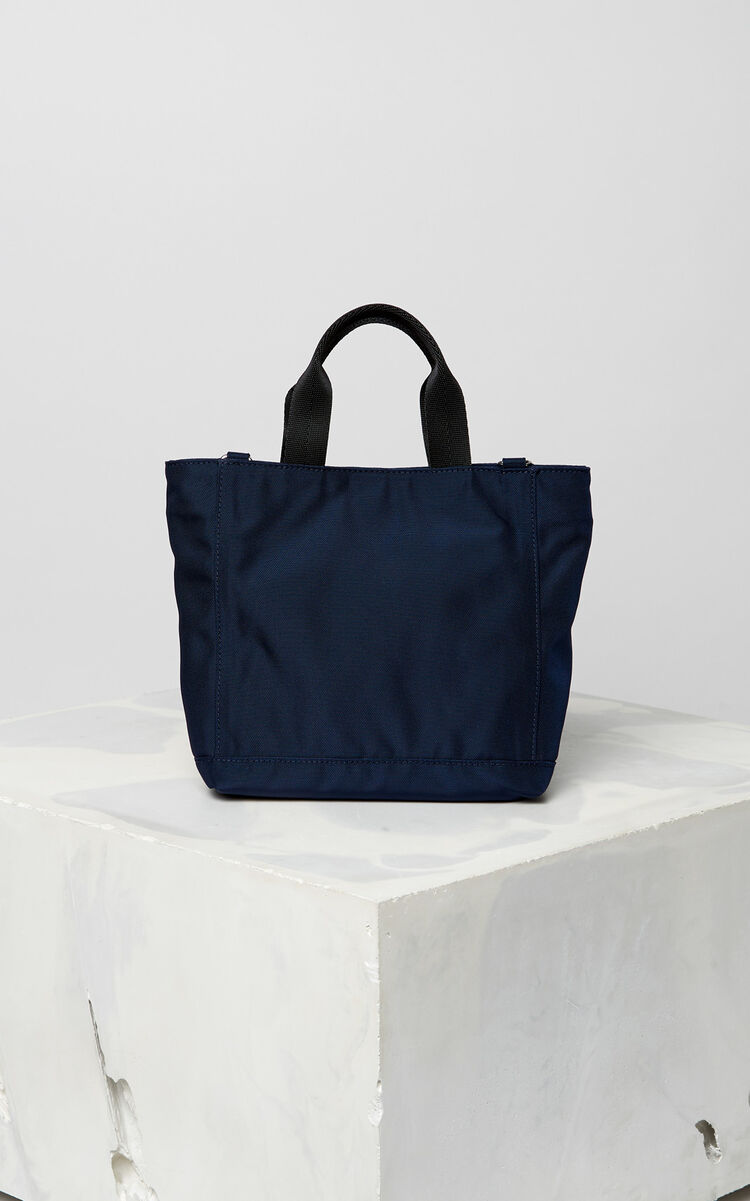NAVY BLUE Mini Tiger tote bag for unisex KENZO