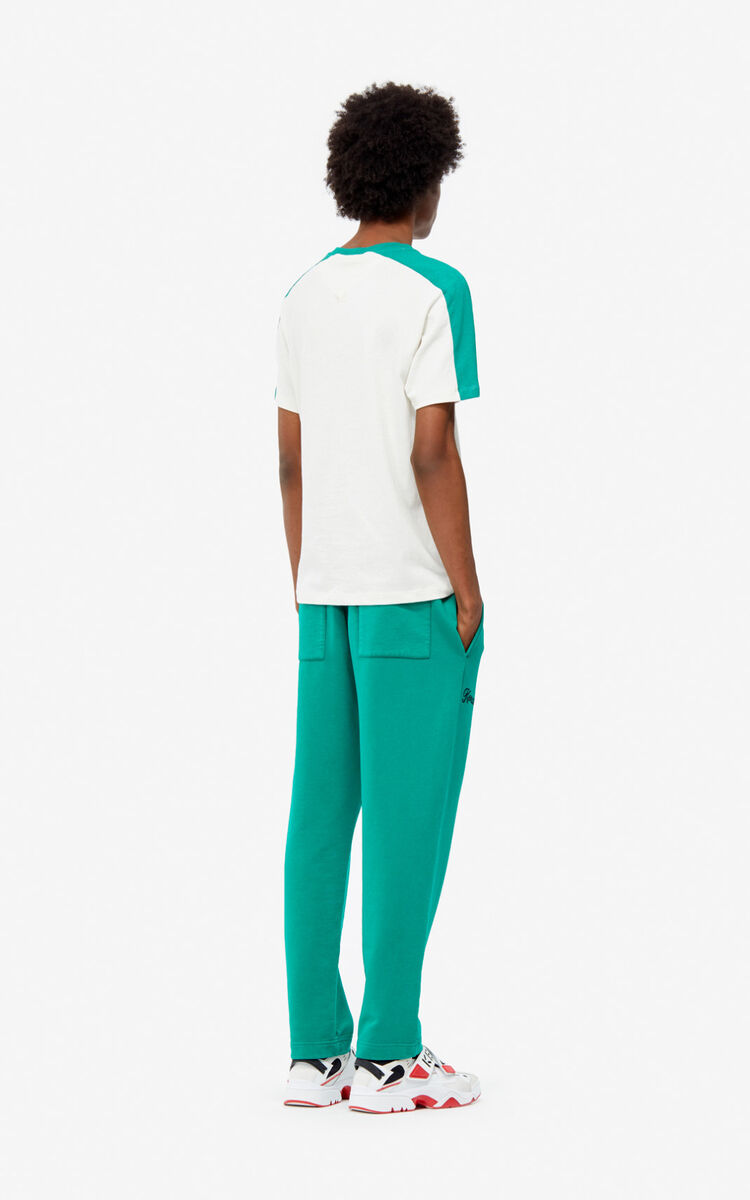 GRASS GREEN 'Jumping Tiger' jogging trousers for women KENZO