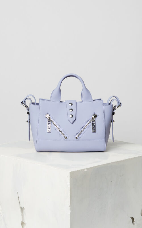 LAVENDER Mini Kalifornia Gommato in leather for women KENZO
