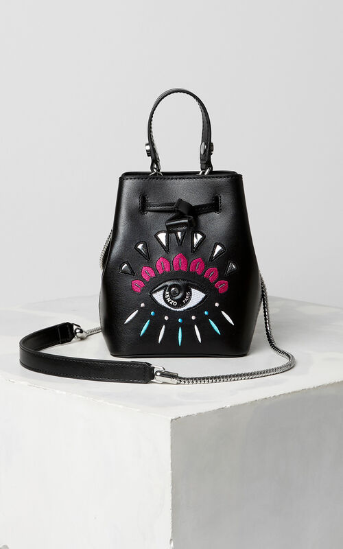 BLACK Eye small tote bag for unisex KENZO