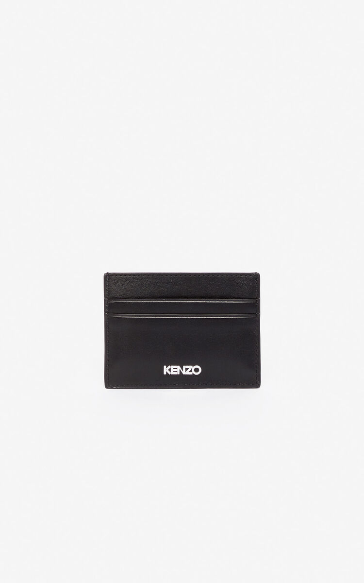 BLACK Kontact Eye card holder for unisex KENZO