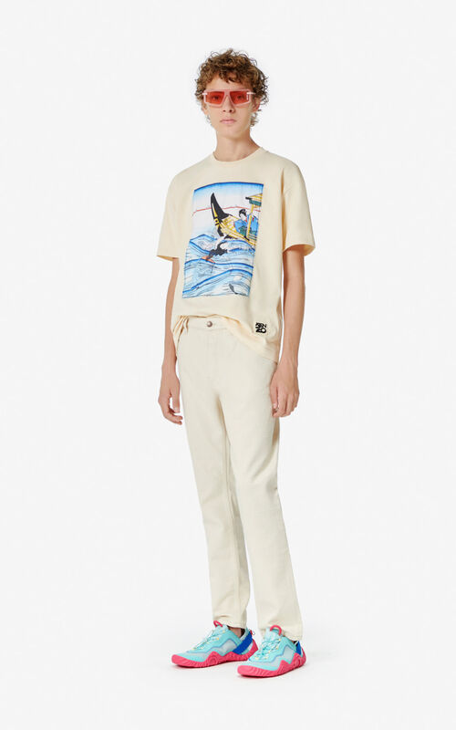 ECRU 'Ama Diver' T-shirt for men KENZO