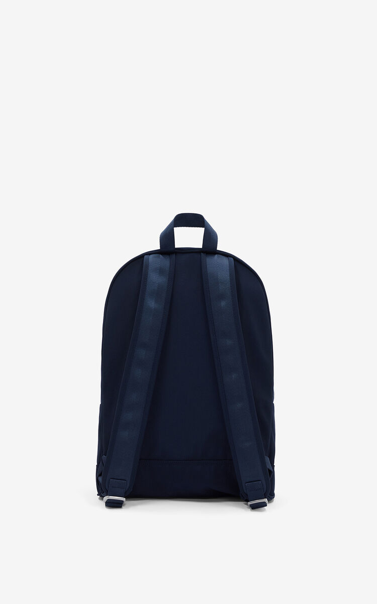 MIDNIGHT BLUE Kampus Tiger backpack for unisex KENZO