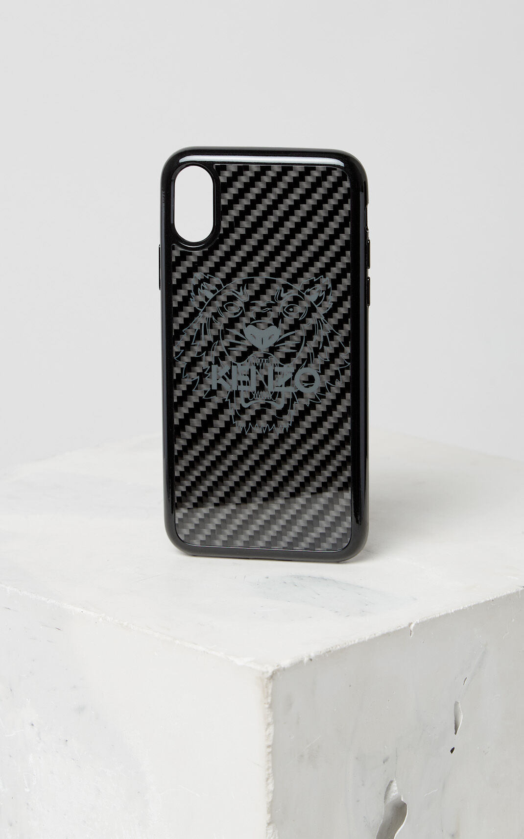 BLACK Tiger iPhone X case for women KENZO