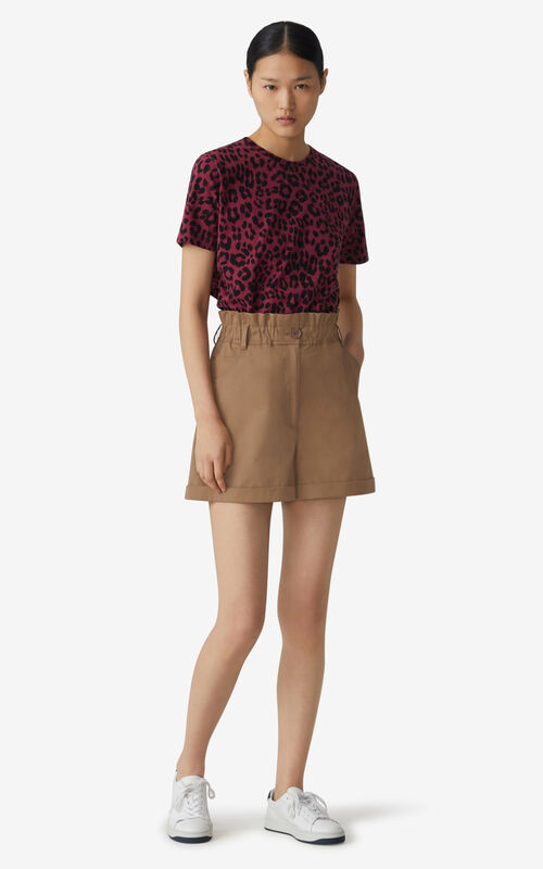 CARMINE 'Leopard' loose-fitting T-shirt for women KENZO