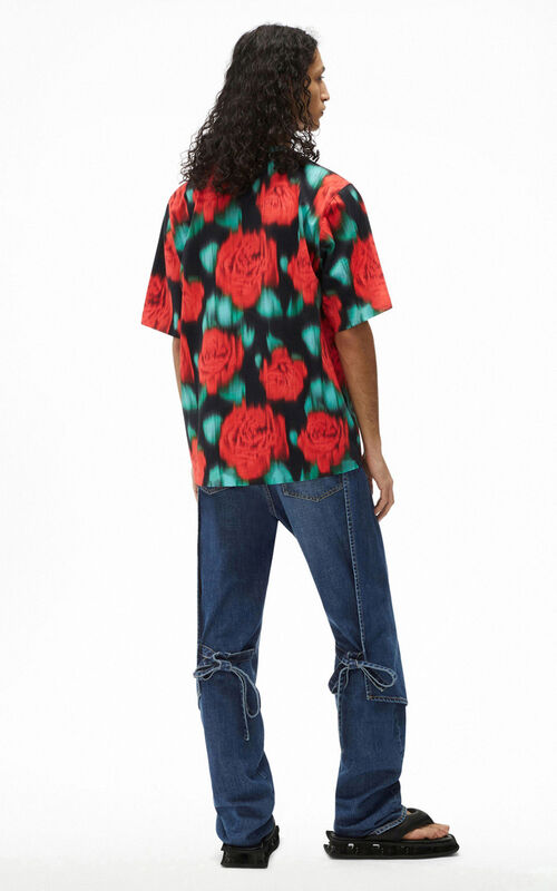 CHERRY 'Roses' T-shirt for men KENZO