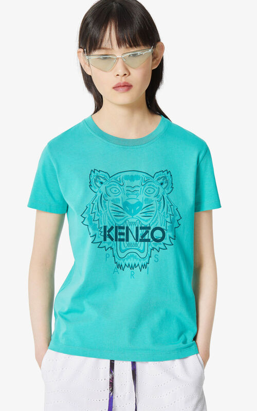 MINT 'High Summer Capsule Collection' Tiger t-shirt for women KENZO