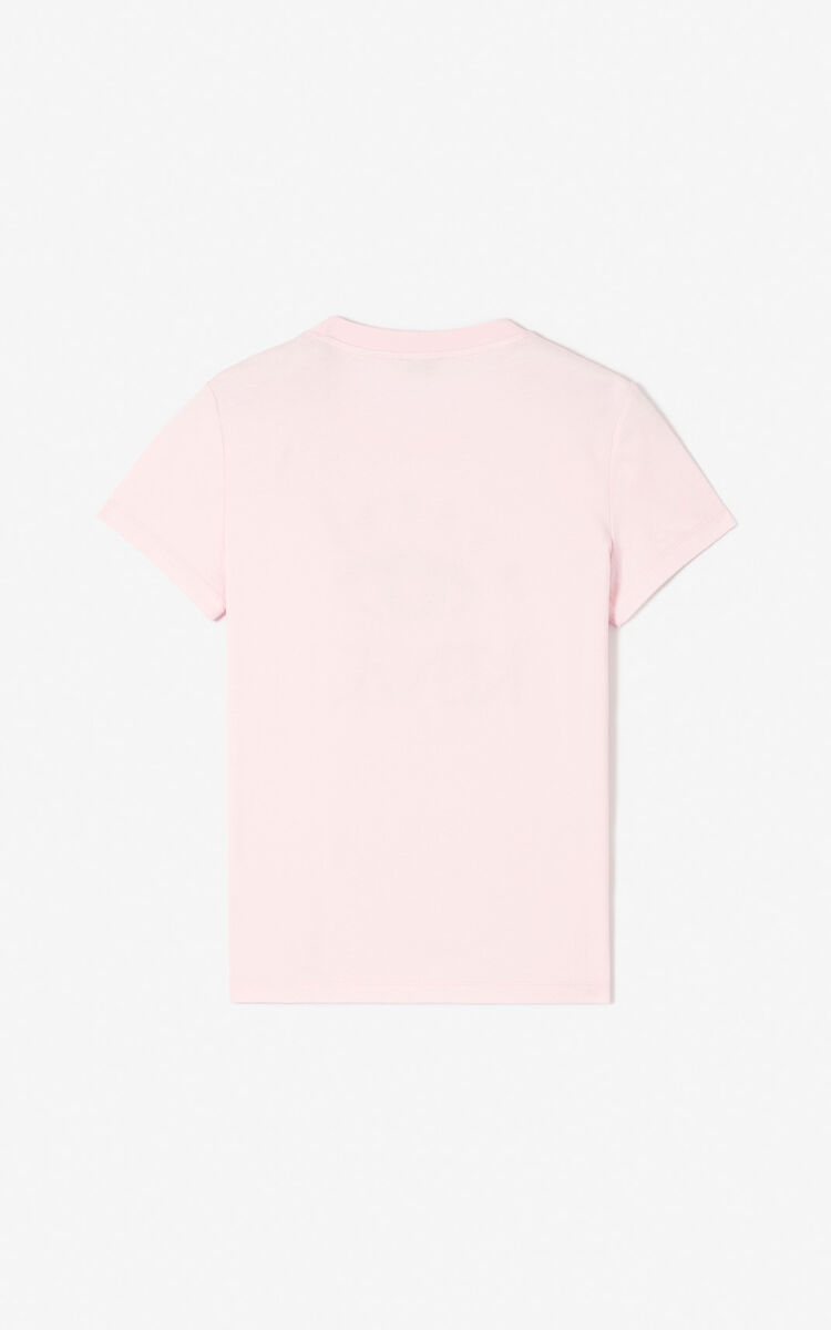 FLAMINGO PINK 'Cupid' t-shirt for women KENZO