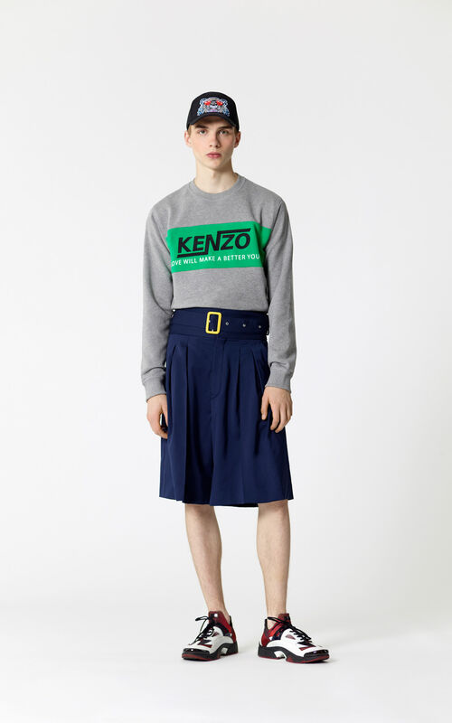 DOVE GREY 'Valentine's Day Capsule' Hyper KENZO sweatshirt for men
