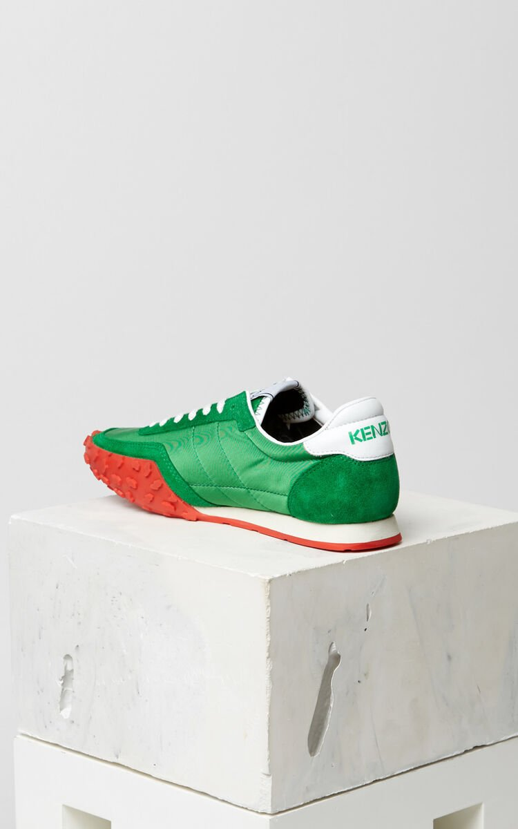 GRASS GREEN KENZO MOVE Sneakers for women