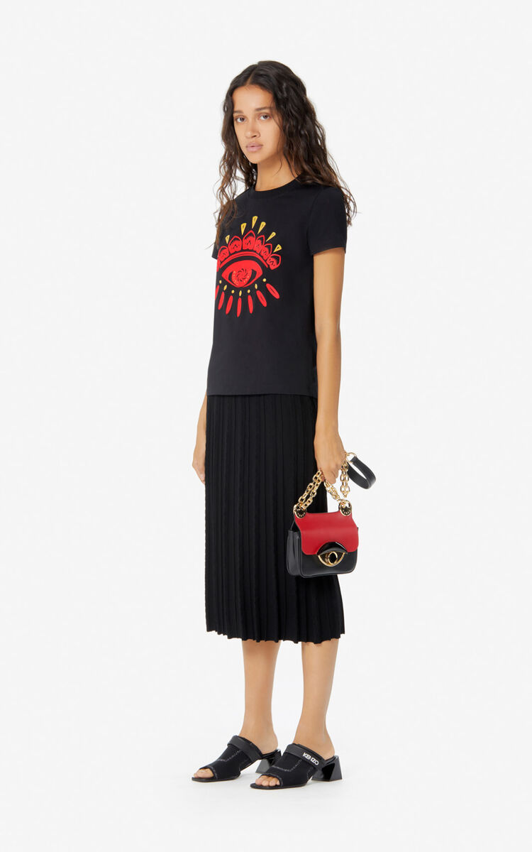 BLACK 'Chinese New Year Capsule' Eye t-shirt for women KENZO