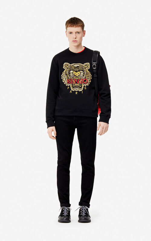 ... BLACK Tiger sweatshirt  Exclusive Capsule  for men KENZO 5d0783aa202