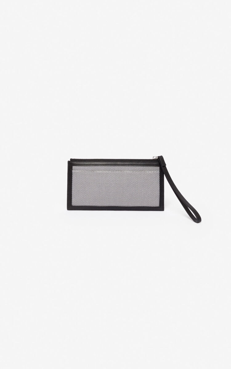 SILVER Kombo card holder   for unisex KENZO