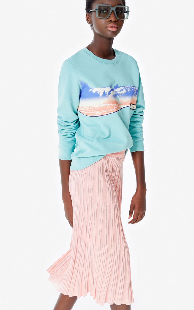 AQUA 'KENZO Wave' sweatshirt for women