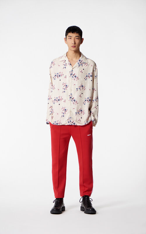 SAND Flowing 'Cheongsam Flower' shirt for men KENZO