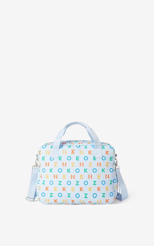 SKY BLUE KENZO changing bag for unisex