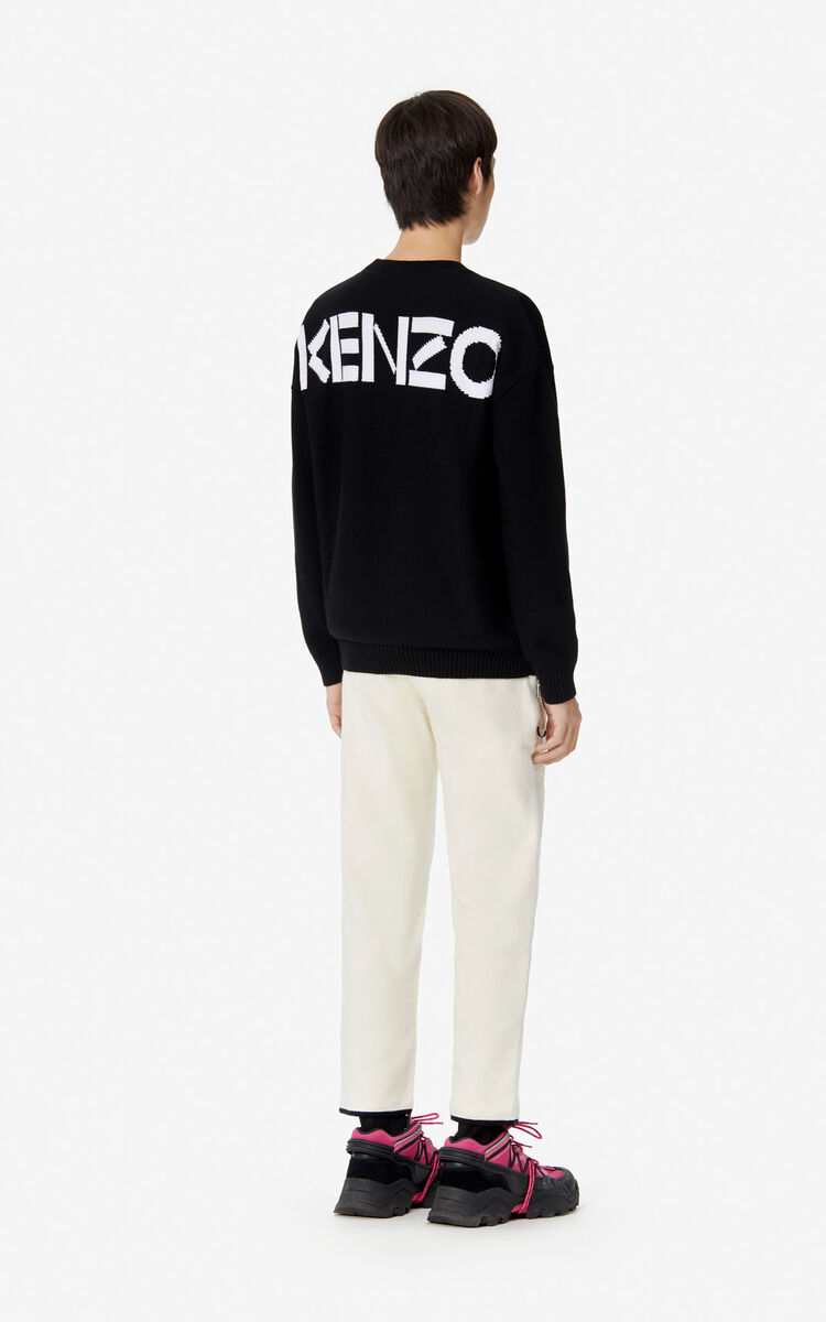 BLACK KENZO jumper for men