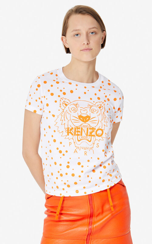6db9503a DEEP ORANGE 'Dots' Tiger T-shirt 'High Summer Capsule collection' for ...