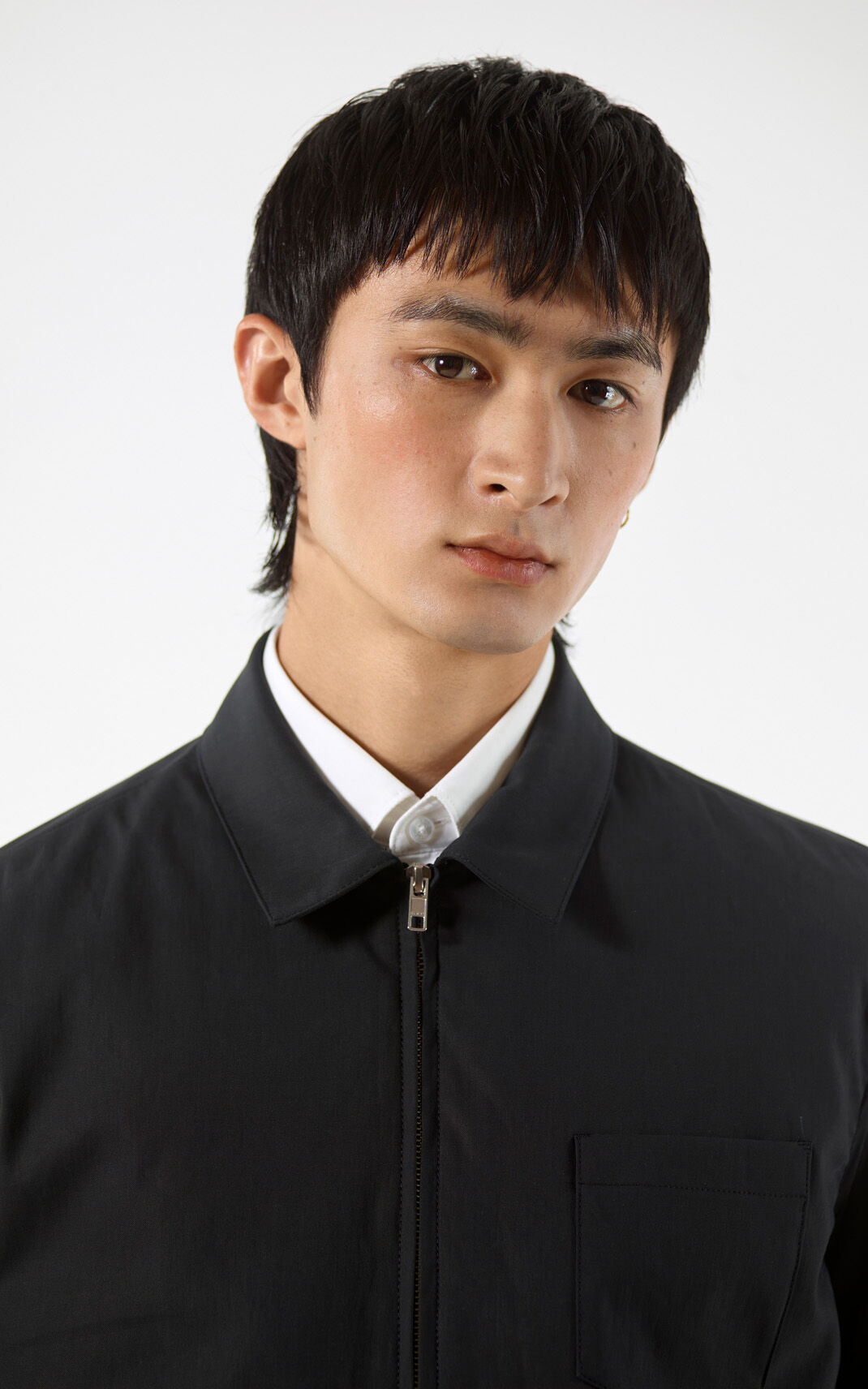 BLACK Zipped jacket for men KENZO