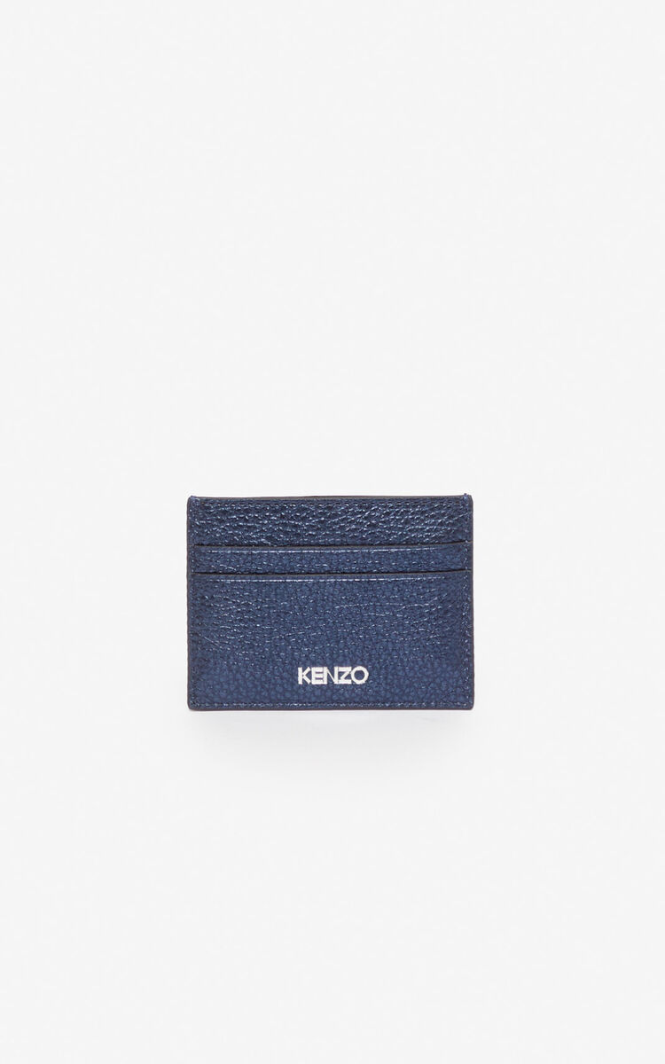 NAVY BLUE Kontact Eye cardholder for unisex KENZO