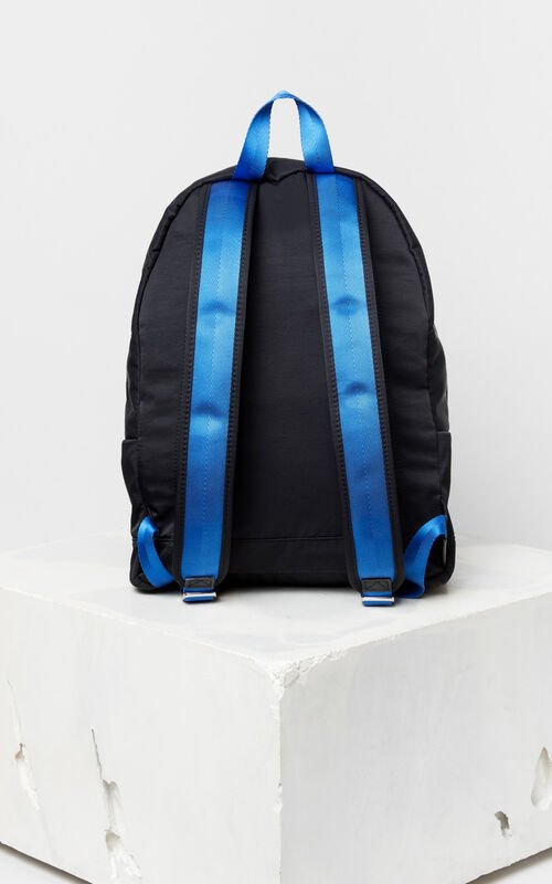 BLACK Multi-Icon Backpack 'Go Tigers Capsule' for unisex KENZO