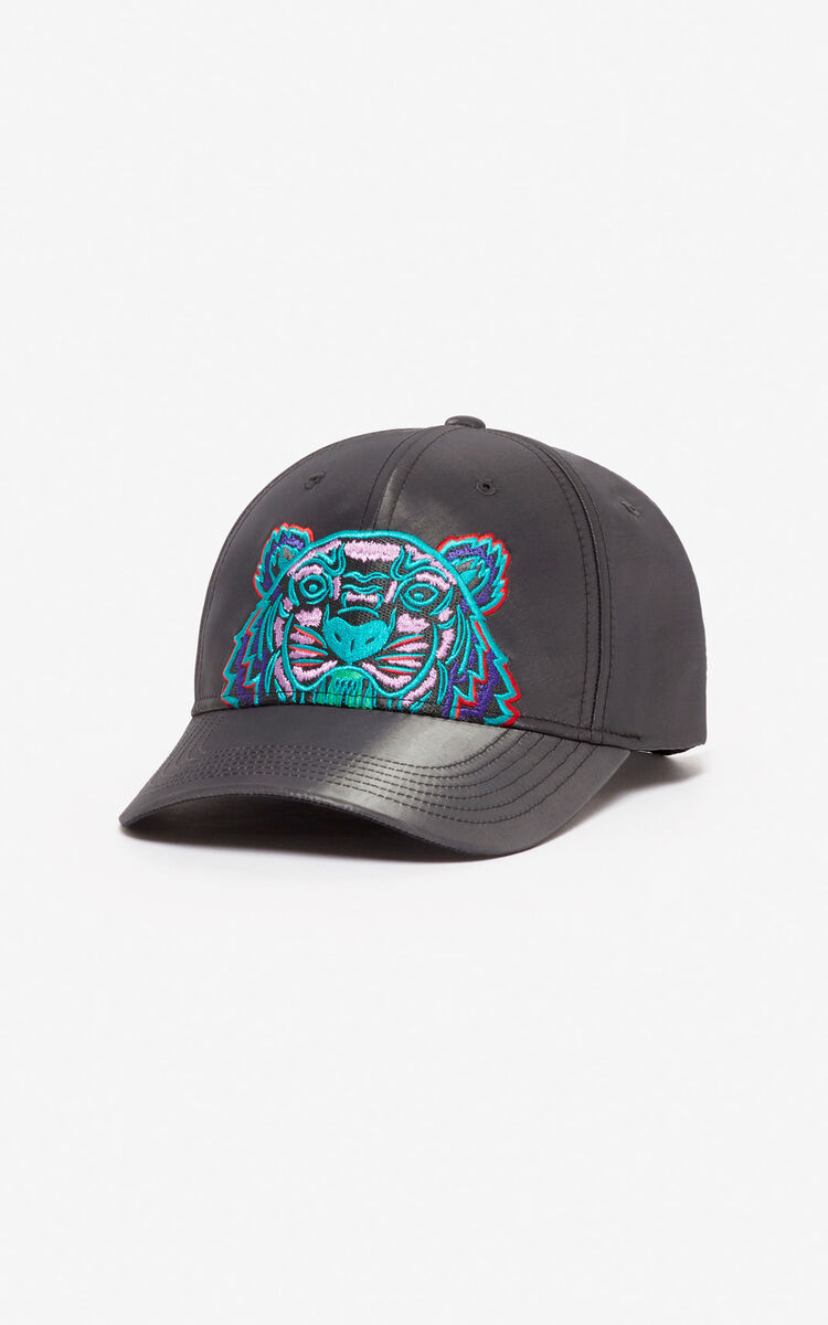 ANTHRACITE 'Holiday Capsule' Tiger 'Kampus' baseball cap for unisex KENZO