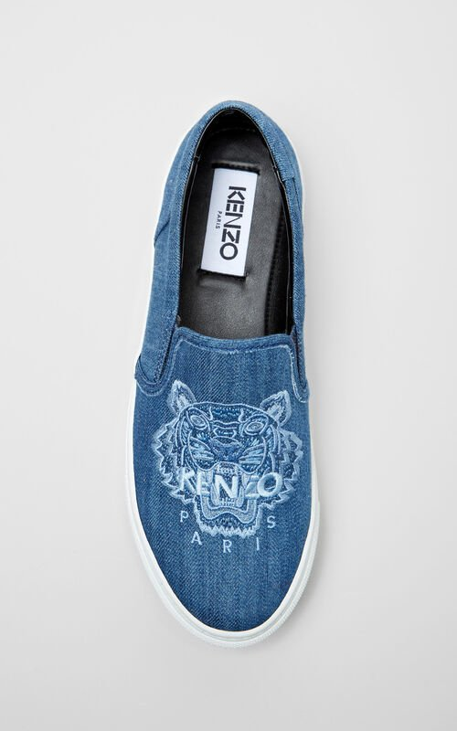 Tiger denim slip-on for women KENZO