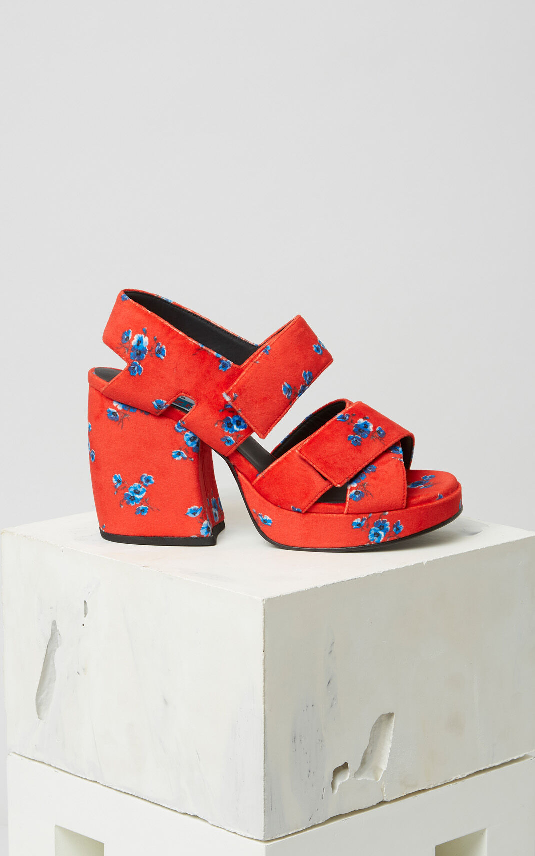 MEDIUM RED May flowers Sandals for unisex KENZO