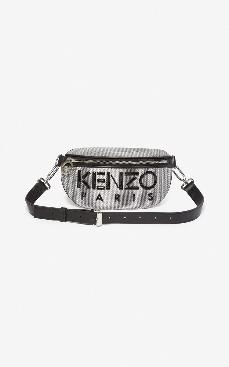 SILVER Kombo belt bag for global.none KENZO