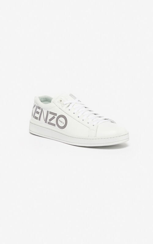 WHITE Tennix sneakers for women KENZO