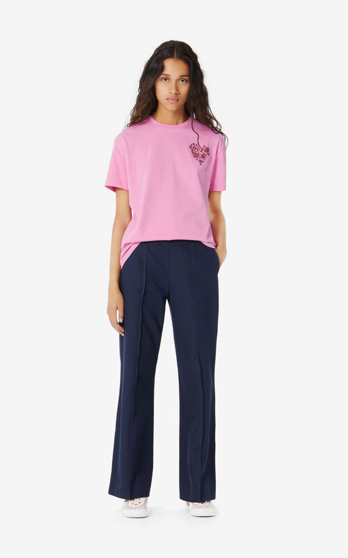 BEGONIA 'Lucky Star' T-shirt for women KENZO