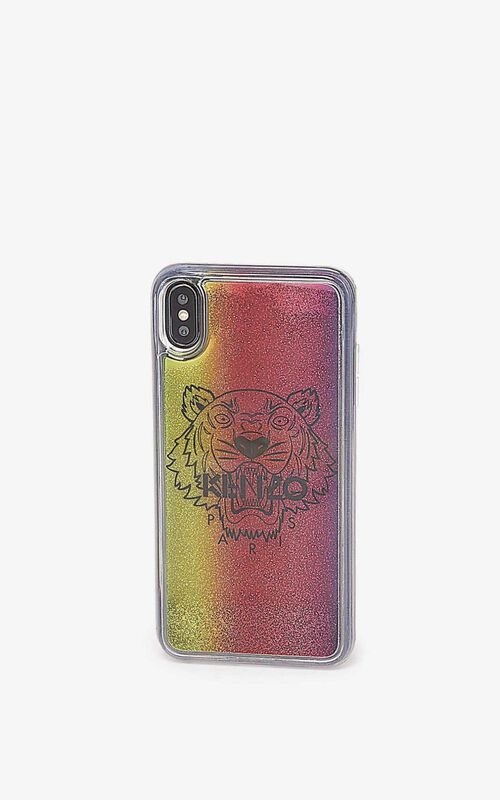 MULTICOLOR iPhone XS Max Case for women KENZO