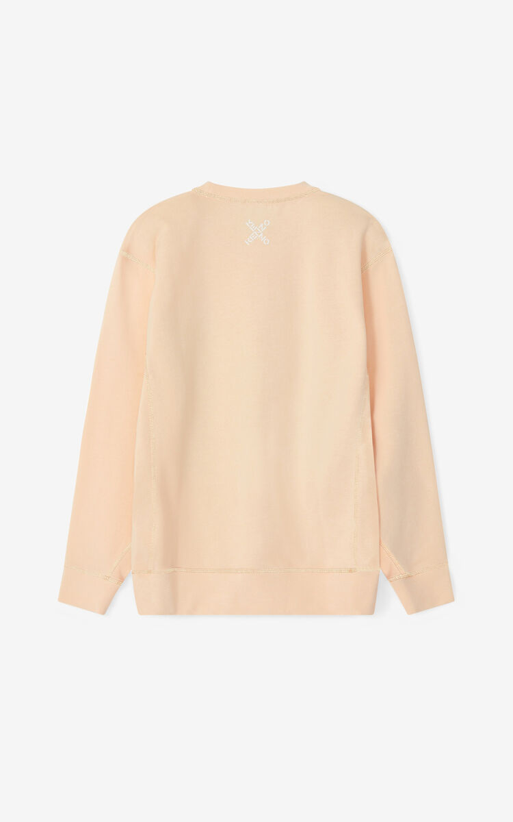 BLUSH KENZO Sport loose sweatshirt for women