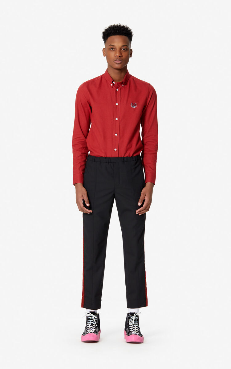 CHERRY Tiger slim-fit shirt for men KENZO