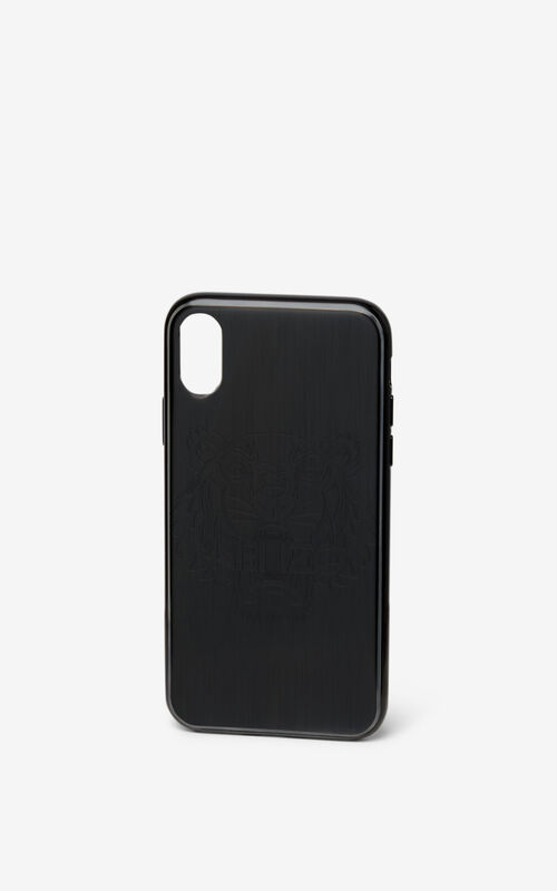 BLACK iPhone X Case   for unisex KENZO
