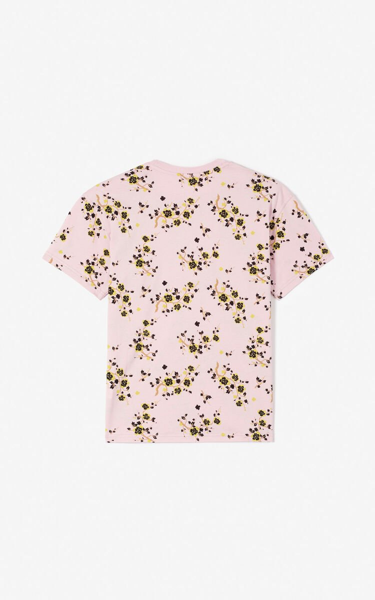 PASTEL PINK T-shirt 'Color by Kenzo' für damen