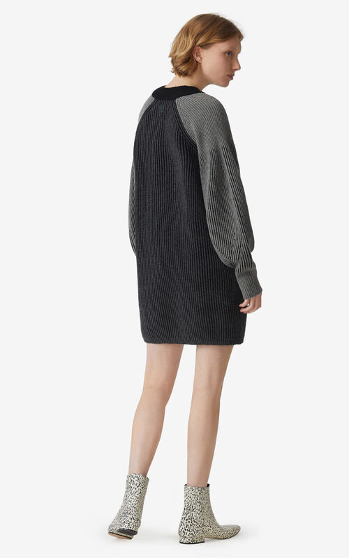 BLACK Robe 'Fisherman' for women KENZO