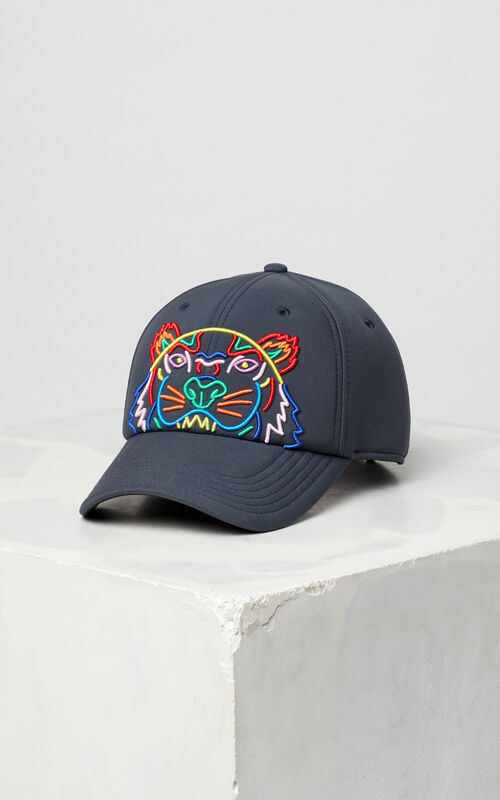 ANTHRACITE 'High Summer Capsule Collection' Neoprene Tiger cap for men KENZO