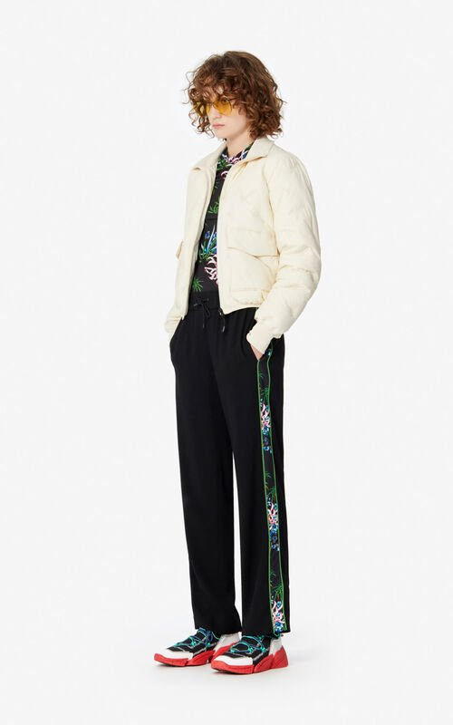 LIME Fluid crêpe 'Sea Lily' trousers for women KENZO