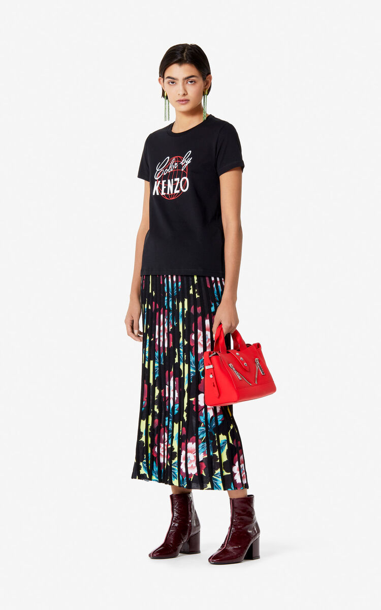 BLACK 'Color by KENZO' t-shirt for women