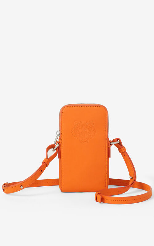 PAPRIKA Preppy Tiger crossbody phone case for unisex KENZO