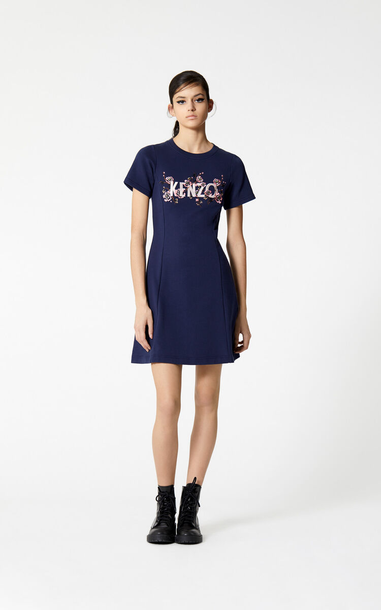 INK 'Cheongsam Flower' dress for women KENZO