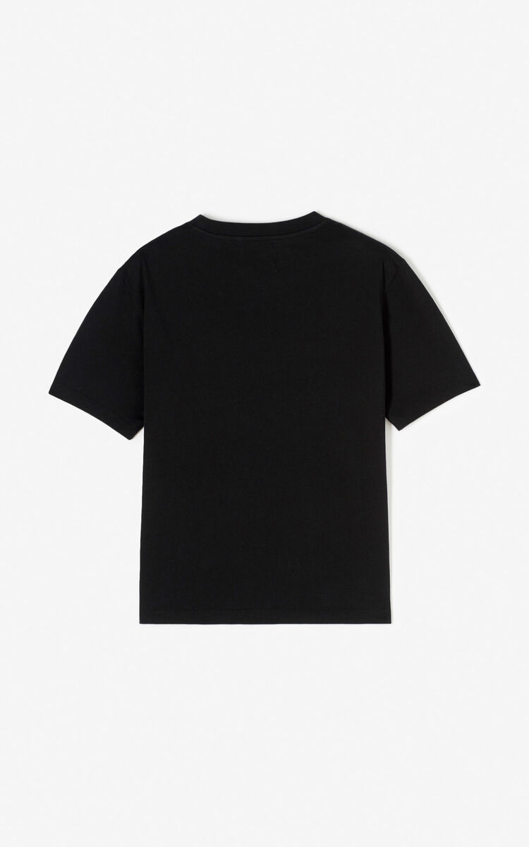 BLACK 'Tomato' T-shirt for women KENZO