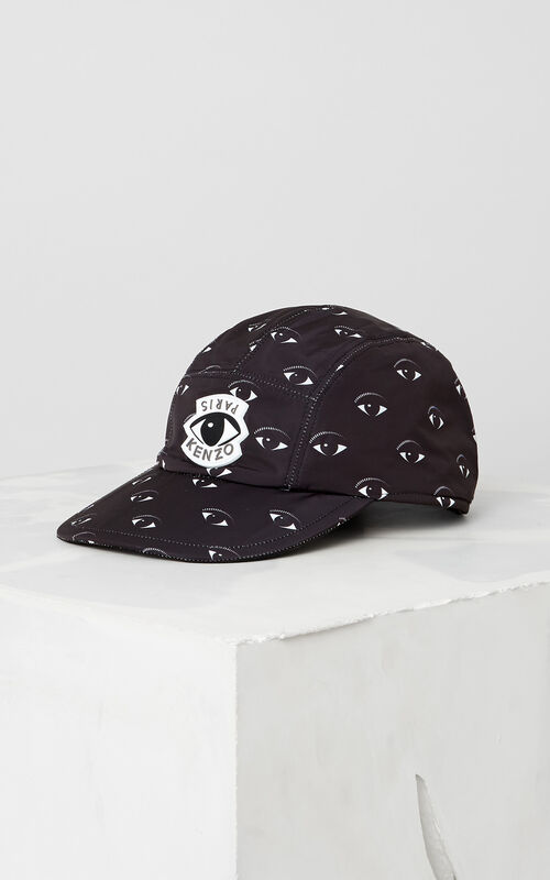 BLACK Eye Cap for men KENZO