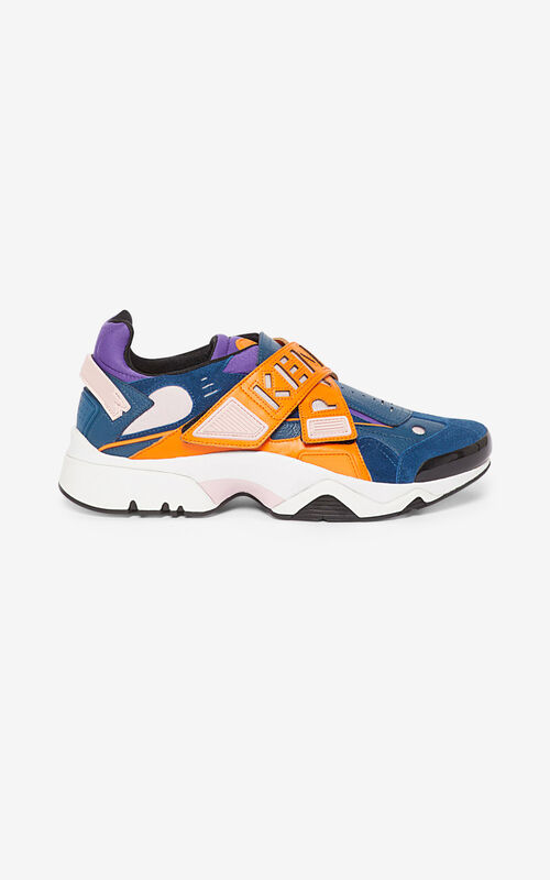 MEDIUM ORANGE Sonic Velcro sneakers for unisex KENZO