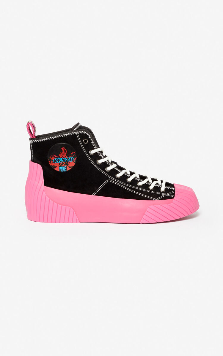 BEGONIA Volkano high-top trainers for unisex KENZO