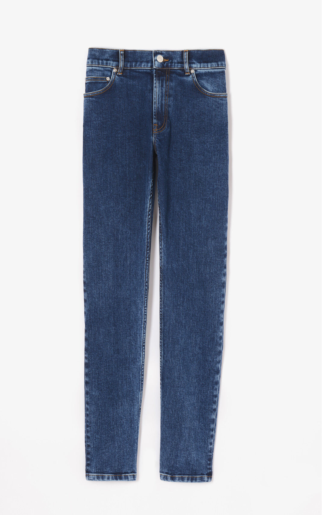 NAVY BLUE KENZO Signature jeans for men