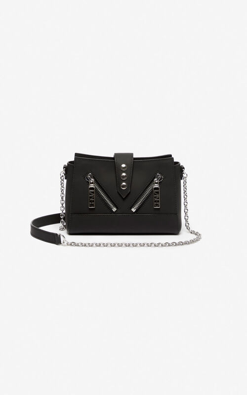 9251b7e77a7 BLACK Tiny leather Kalifornia bag for unisex KENZO ...