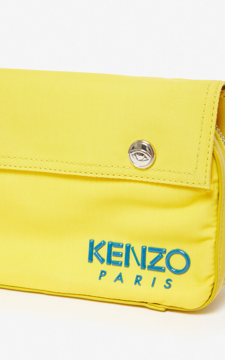 LEMON KENZO Paris crossbody bag for men